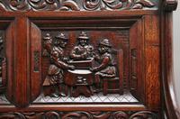 Superb Quality 19th Century Oak Box Settle (14 of 16)