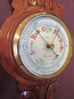 Small Victorian Gloucester Banjo Barometer (3 of 7)