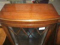 Mahogany Display Cabinet on Queen Anne Legs (2 of 3)