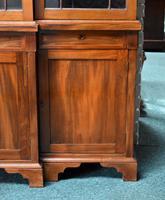 19th Century Victorian Mahogany Breakfront Bookcase (9 of 11)