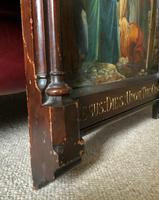 Superb 19th Century Old Master Biblical Christ Oil Portrait Painting - Gothic Oak Frame (15 of 17)