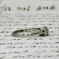 The Antique Old European Cut Three Diamond Ring (4 of 6)