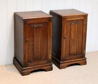 Pair of Oak Bedside Cabinets (7 of 12)