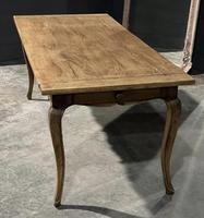 French Oak Farmhouse Kitchen Dining Table (2 of 18)