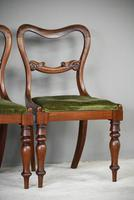 6 Harlequin Victorian Rosewood Dining Chairs (4 of 11)