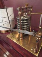 Antique Polished Mahogany Portable Barograph (5 of 9)