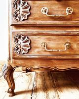 French Antique Style Oak Chest of Drawers / Drawers / Commode (3 of 5)
