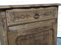 French Early Oak Small Cupboard or Cabinet (13 of 16)