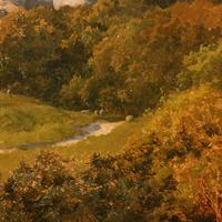 Oil on Canvas Landscape by Charles Collins (4 of 9)