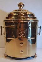 Art Deco Polished Brass Coal Bucket (3 of 5)