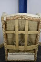 Beautiful Wingback Fireside Chair 19th century (5 of 12)