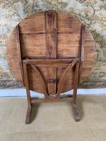 Early 20th Century Hand Painted Vendange Table (5 of 7)