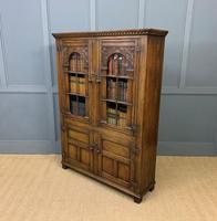 Ipswich Oak Bookcase c.1930 (13 of 13)
