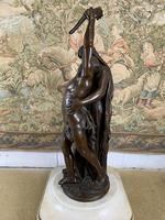 Stunning Large Bronze Group 'Gloria Patriae' by Eugene Marioton (9 of 9)