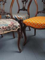 Set of 6 Mid Victorian Rosewood Dining Chairs (9 of 14)