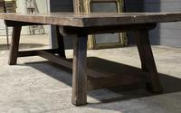 Huge Rustic French Oak Farmhouse Dining Table (13 of 35)