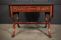 Dutch Marquetry Walnut Sofa Table (11 of 14)