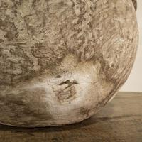 Large 18th Century Swedish Carved Wooden Burl Root - Knot Bowl (4 of 14)