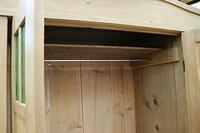 Beautiful Old Pine Triple Knock Down 'Arts & Crafts' Wardrobe  - We Deliver & Assemble! (9 of 18)