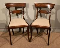 Pair of Regency Mahogany Side Chairs (6 of 7)