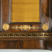 Pair of Regency Brass Inlaid Rosewood Side Cabinets (7 of 17)