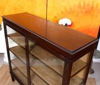 Glazed Bookcase Display Cabinet Edwardian Mahogany (5 of 9)