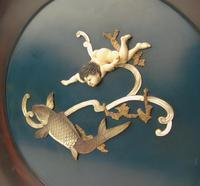 Rare Sibayama Plaque Japanese Meiji (4 of 8)