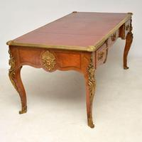 Large Antique French Gilt Bronze Mounted Desk (4 of 16)