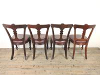 Set of Four Victorian Mahogany Dining Chairs (7 of 7)