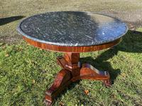 Flame mahogany Gueridon or centre table (5 of 7)