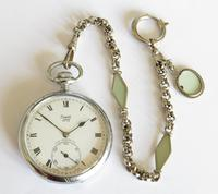 1920s Limit No 2 Pocket Watch with Later Chain (2 of 5)