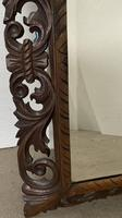 Carved Oak Mirror - Late 19th Century (5 of 6)