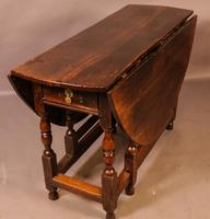 17th Century Gateleg Dining Table c.1680 (4 of 13)
