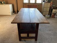 19th Century Pine & Oak Monk's Bench / Work Table (6 of 10)