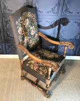 Carved Oak Chair (5 of 19)