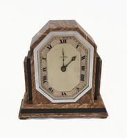 Art Deco Mantle Clock Marble Period 1920s Swinden Birmingham (2 of 8)