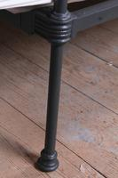 Attractive All Iron Irish Cottage Style Bed (9 of 9)