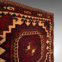 Antique Tekke Torba, Caucasian, Woven, Tent Bag, Decorative Wall Covering, 1900 (8 of 10)