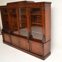 Antique George IV Mahogany Dwarf Bookcase (10 of 11)