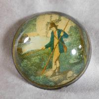 19th Century Convex Paperweight (3 of 5)