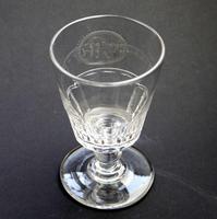 Good Regency Bucket Bowl Monogrammed Cut Glass Rummer c.1820 (5 of 6)