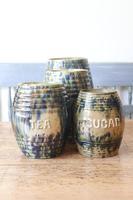Scottish Pottery Slipware Barrel Storage Jars x4 (31 of 35)