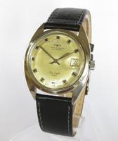 Gents 1970s Technos Sky Light Wrist Watch