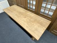 Rare Huge Oak French Farmhouse Dining Table (17 of 18)