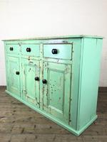 Victorian Antique Pine Painted Dresser Base Sideboard (11 of 14)
