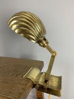Usa Adjusto ~lite Clip On Desk Table Lamp, C1910. Rewired And Pat Tested (5 of 11)