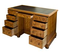 Quilted Birch Kneehole Desk (2 of 8)