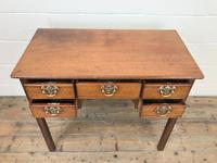 Antique Oak Side Table (4 of 9)
