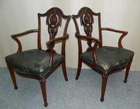 Set of 8 Mahogany Dining Chairs - H. Samuel, London (3 of 8)