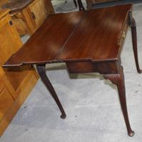 1780's Oak Card Table (4 of 5)
